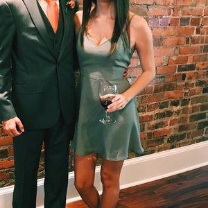 Forever 21 Olive Green Dress
